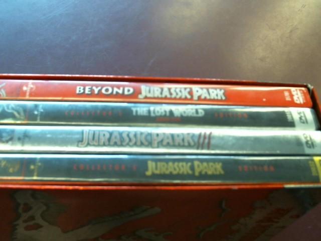 JURASSIC PARK TRILOGY (4-DVD SET