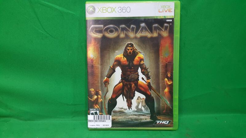 MICROSOFT Microsoft XBOX 360 Game CONAN