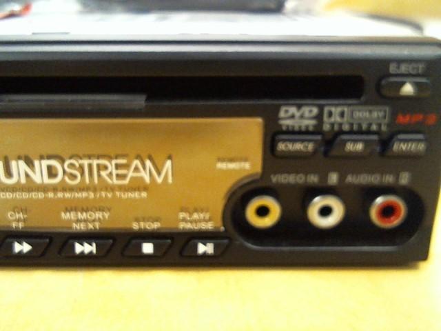 SOUND STREAM Car Audio VDVD-161T