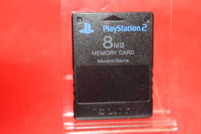 Playstation 2 (PS2) Official Sony Brand 8MB Memory Card Good Condition
