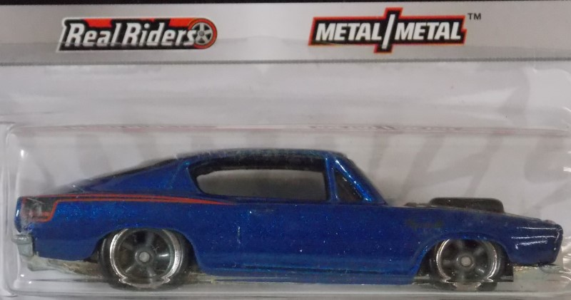 HOT WHEELS: PHIL'S GARAGE- '68 PLYMOUTH BARRACUDA