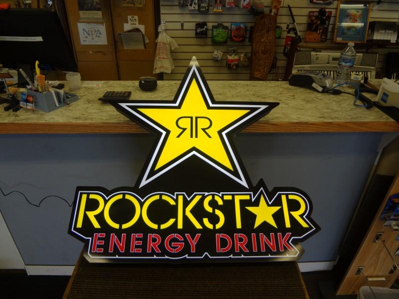 ROCKSTAR ENERGY DRINK LED SIGN