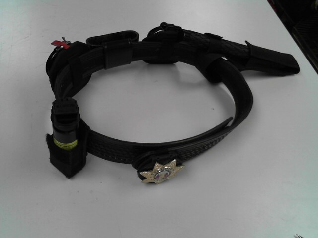 SECURITY BELT W/ACCESSORIES