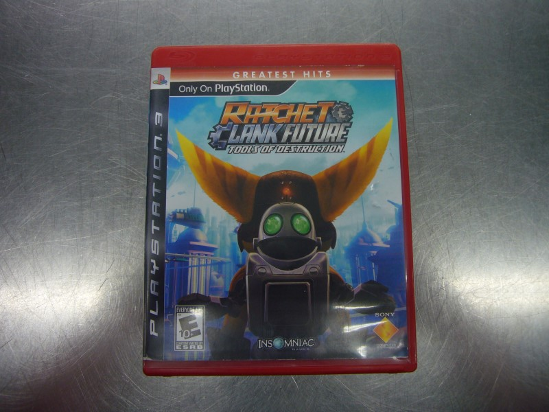 SONY PlayStation 3 Game RATCHET CLANK FUTURE TOOLS OF DESTRUCTION