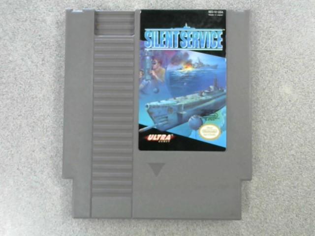 NINTENDO Nintendo NES Game SILENT SERVICE