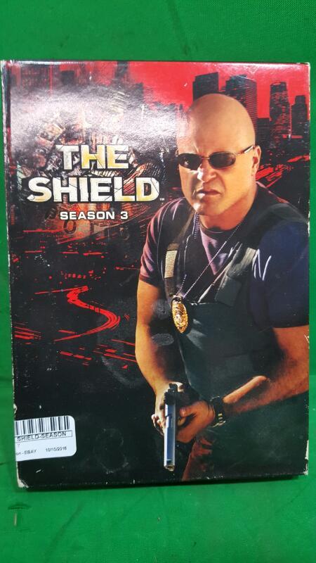 The Shield - Season 3 (DVD, 2005, 4-Disc Set)