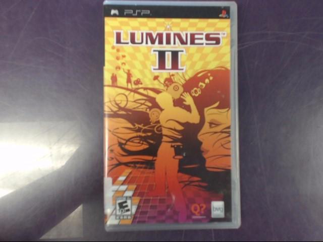 Sony PSP Game LUMINES: PUZZLE 2 PSP