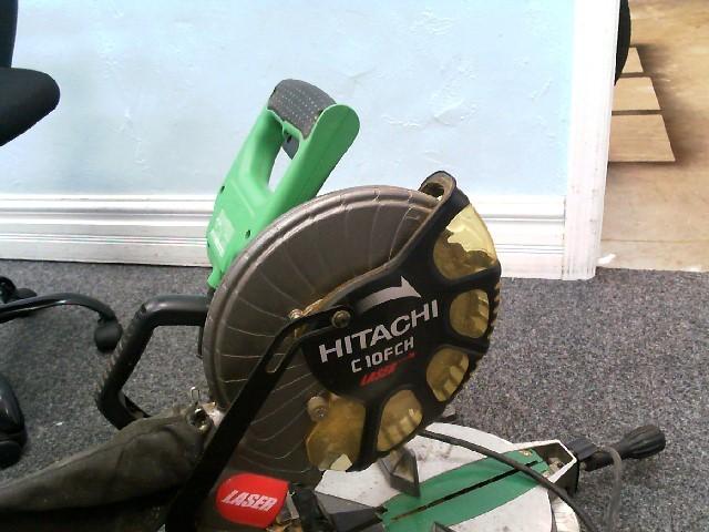 "HITACHI Miter Saw C10FCH 10"""