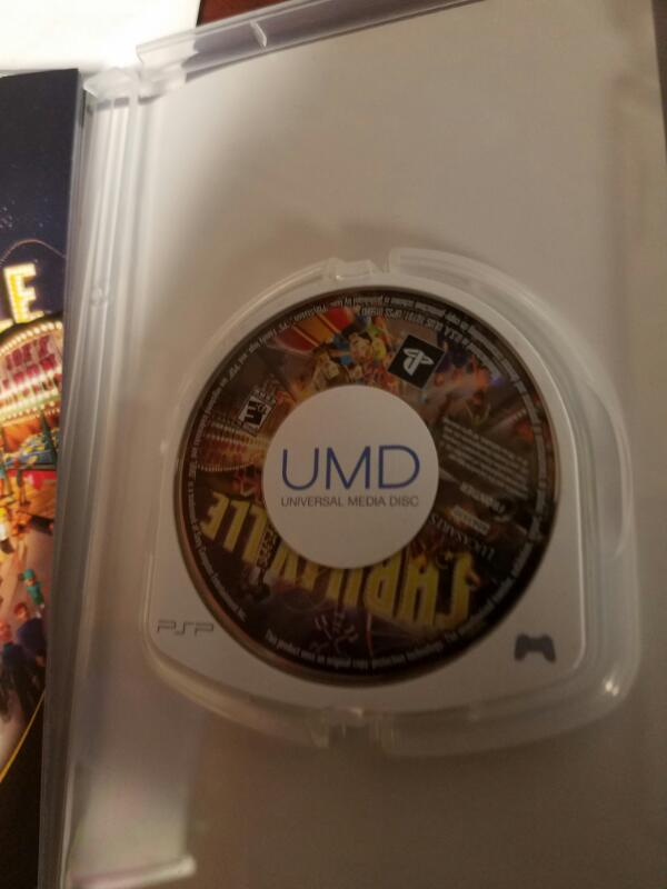 SONY Sony PSP Game PSP-VIDEO GAME