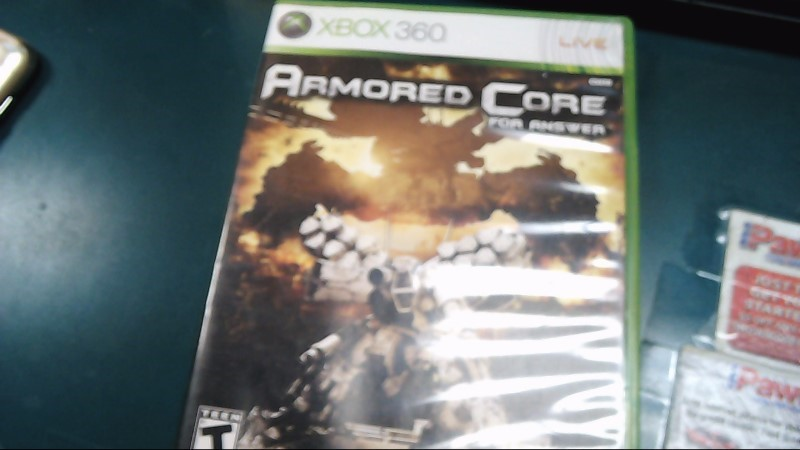 MICROSOFT Microsoft XBOX 360 Game ARMORED CORE FOR ANSWER