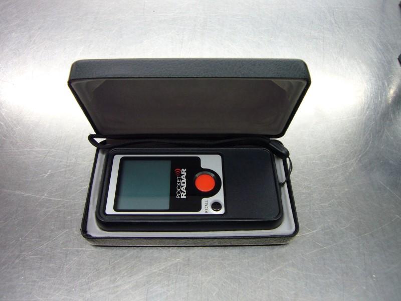 POCKET RADAR Radar & Laser Detector SPORTS RADAR DETECTOR PR1000