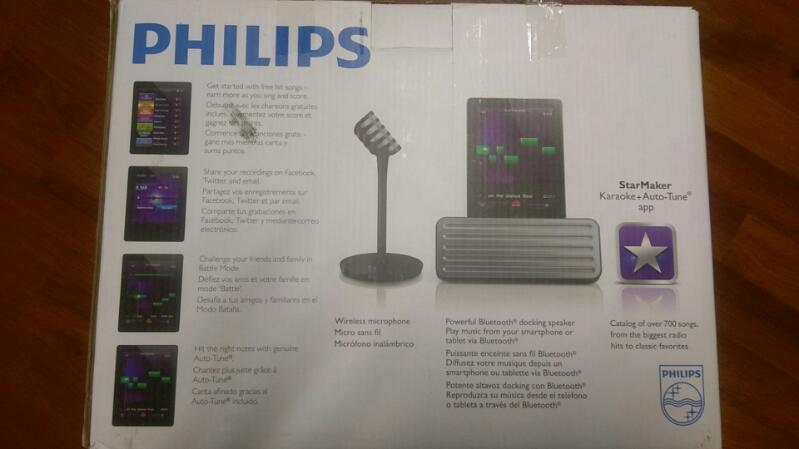 PHILIPS CD PLAYER & RECORDER STAR MAKER KARAOKE+AUTO TUNE  AEA7100
