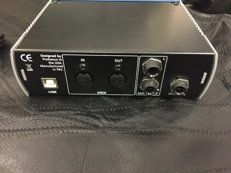 PRESONUS Mixer AUDIOBOX USB