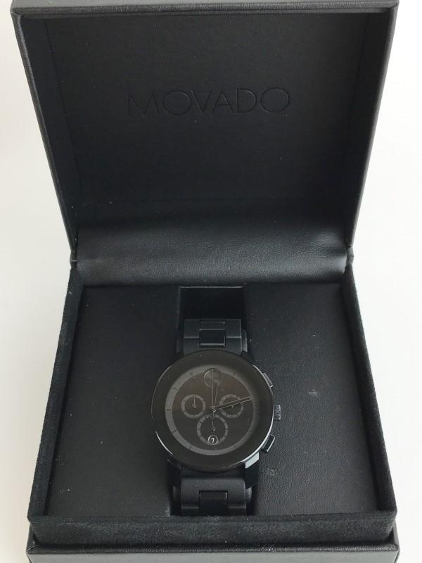 MOVADO CHRONOGRAPH QUARTZ WATCH MB.01.1.29.6016