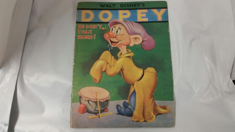 "WHITMAN PUBLISHING 1938 DOPEY ""HE DON'T TALK NONE"""