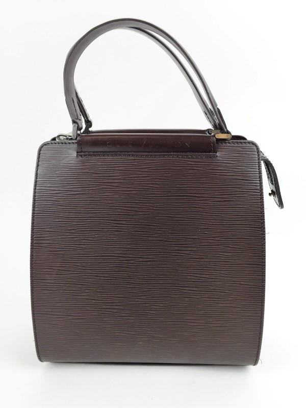 LOUIS VUITTON FIGARI PM EPI LEATHER BROWN HANDBAG