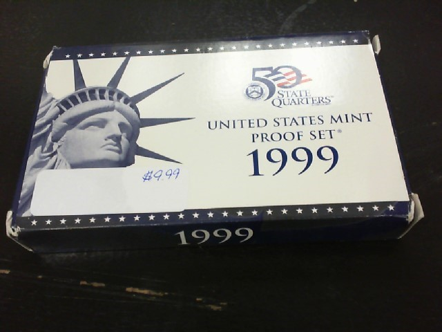 UNITED STATES Collection PROOF SET 1999