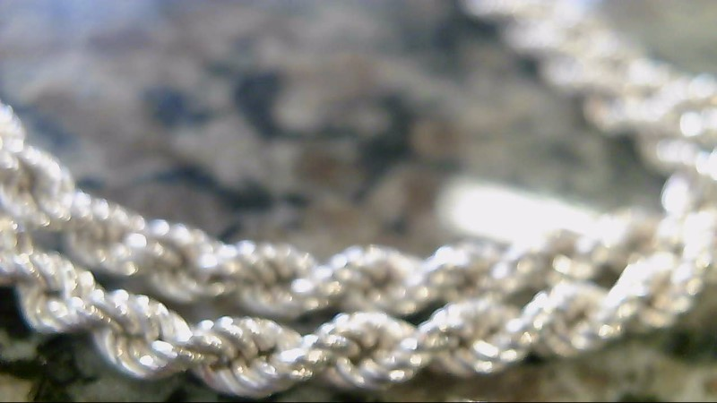 "32"" Silver Chain 925 Silver 18.8g"