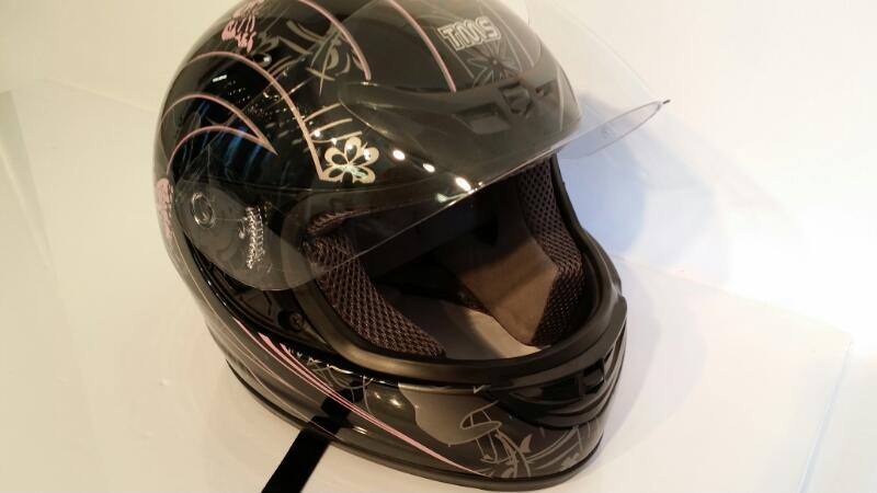 TMS FMVSS 218 Womens LG Motorcycle Helmet]