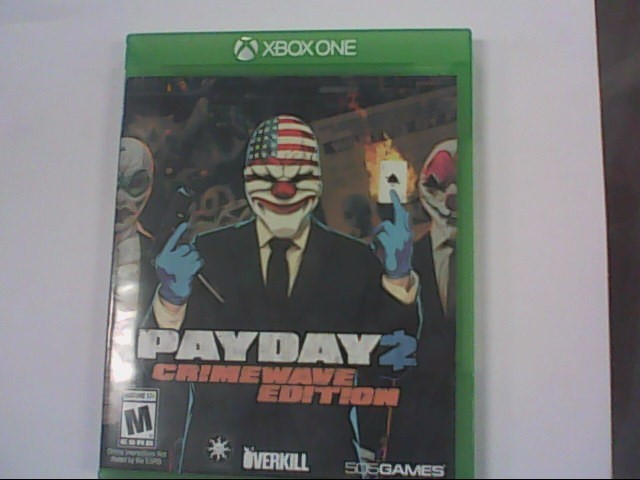 MICROSOFT Microsoft XBOX One Game PAYDAY 2 CRIMEWAVE EDITION - XBOX ONE