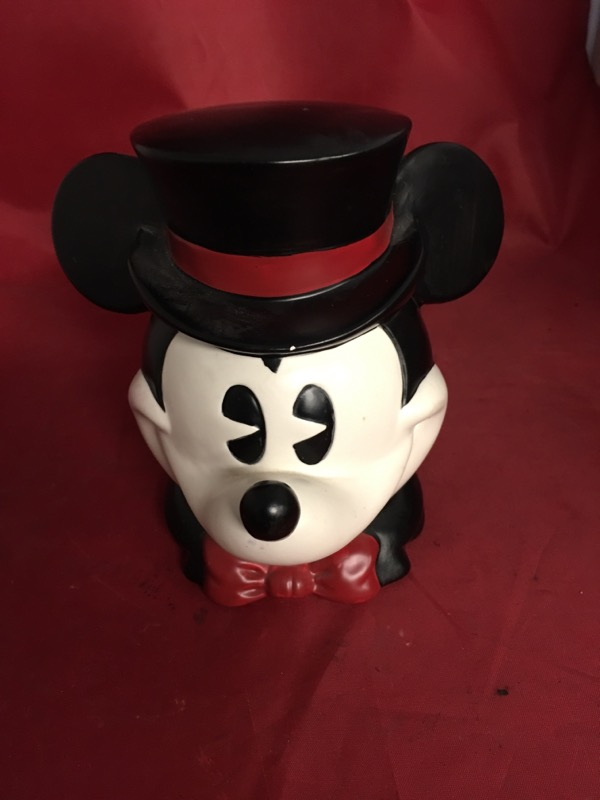 MICKEY MOUSE Music Box MUSICAL HEAD