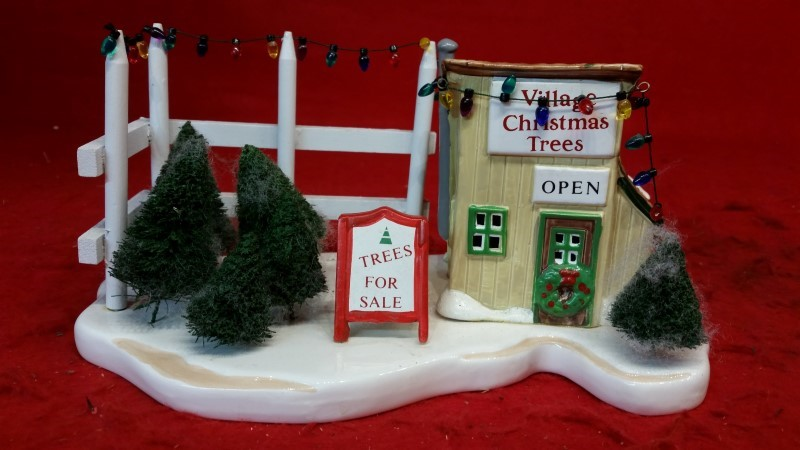 Dept 56 The Original Snow Village Tree Lot Accessory Trees For Sale #5138-1