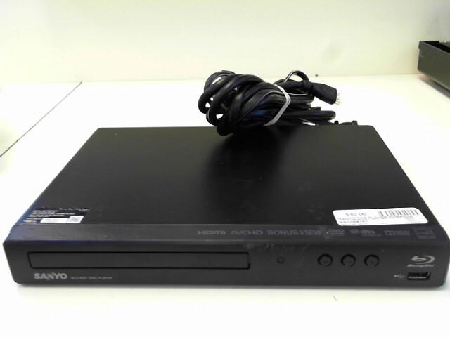SANYO DVD Player FWBP505F