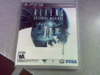 SONY Sony PlayStation 3 Game PS3 ALIENS COLONIAL MARINES