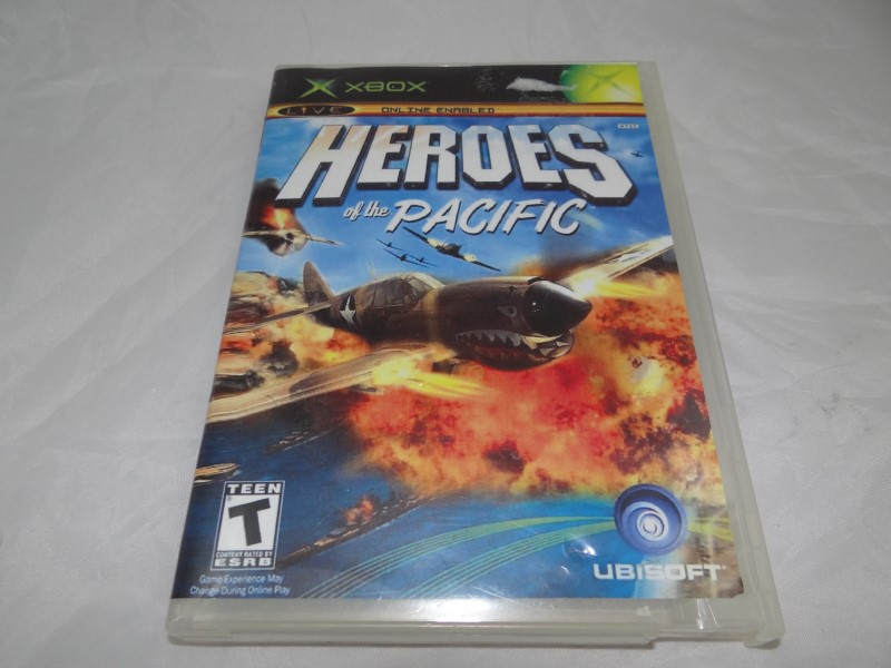 HEROES OF THE PACIFIC - XBOX GAME