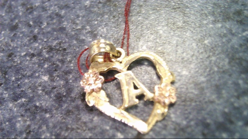 Gold Pendant 10K Yellow Gold 0.8g