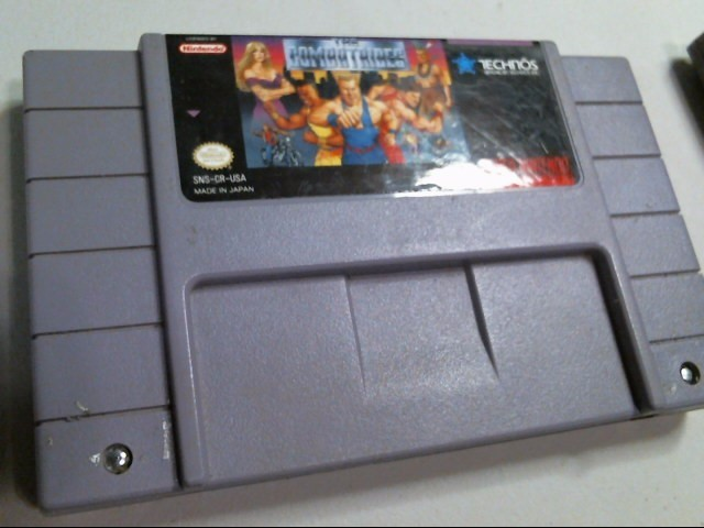 NINTENDO SNES GAME: THE COMBATRIBES
