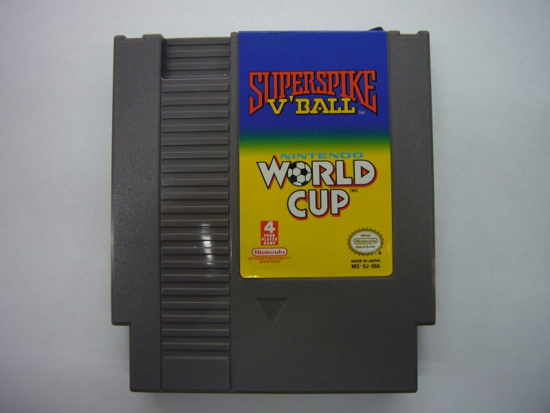 NINTENDO NES Game SUPERSPIKE V'BALL WORLD CUP *CARTRIDGE ONLY*