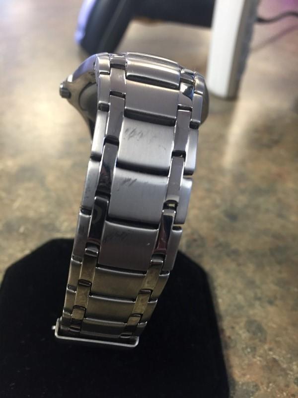 CITIZEN Gent's Wristwatch ECO-DRIVE GN-4-S