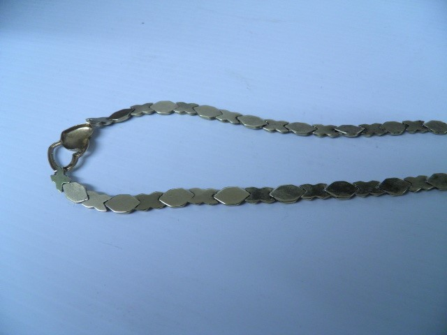 "18"" Gold Fashion Chain 10K Yellow Gold 13.4g"