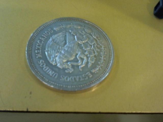 MEXICO Silver Coin 1985 PLATA PURA SILVER COIN