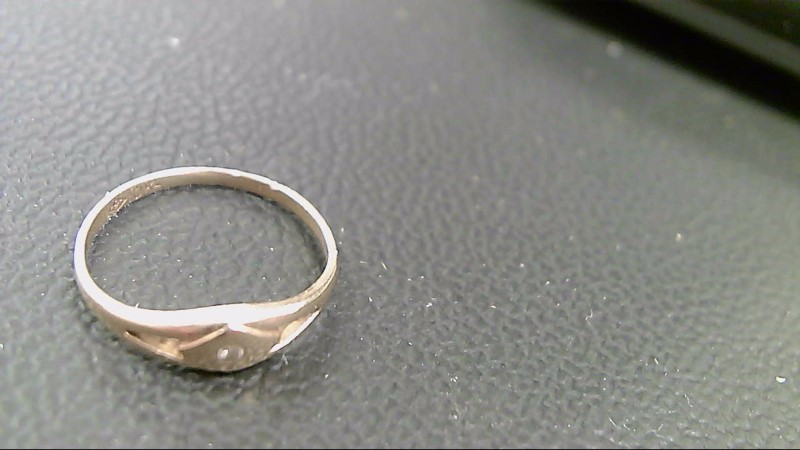 Child's Gold Ring 10K Yellow Gold 0.7g