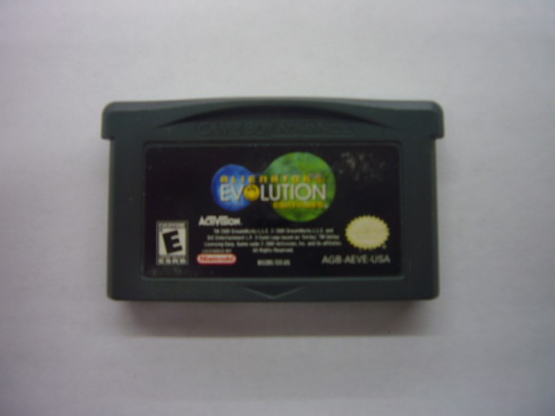 NINTENDO GBA Game ALIENATORS EVOLUTION CONTINUES