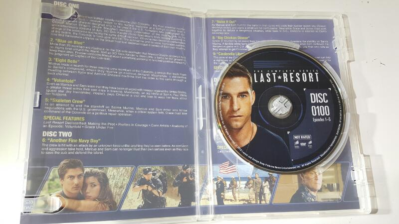 Last Resort The Complete Series on DVD
