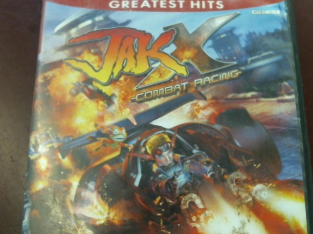 SONY PS2 JAK X COMBAT RACING