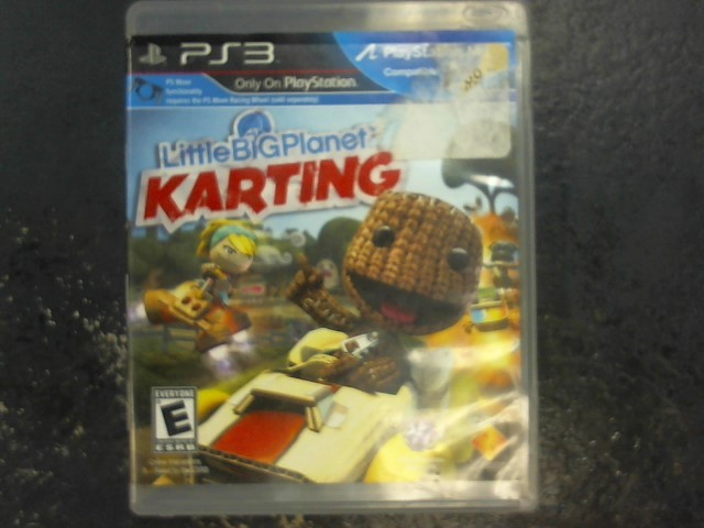 SONY Sony PlayStation 3 Game LITTLE BIG PLANET KARTING