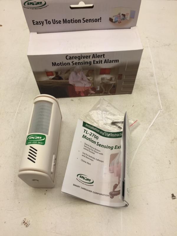 Motion Sensor and Alarm, by Smart Caregiver TL-2700