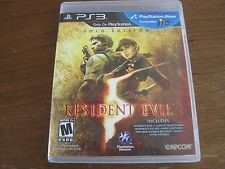 SONY Sony PlayStation 3 Game RESIDENT EVIL GOLD EDITION