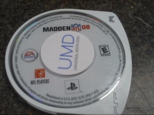 SONY PSP Game MADDEN NFL 08 - PSP