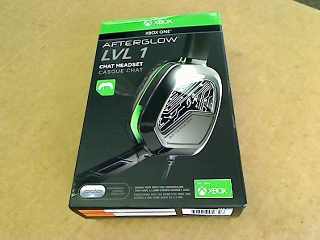 MICROSOFT Video Game Accessory AFTERGLOW LVL 1 CHAT HEADSET