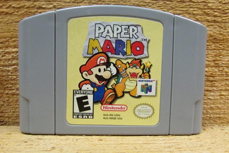 NINTENDO Nintendo 64 Game N64 PAPER MARIO