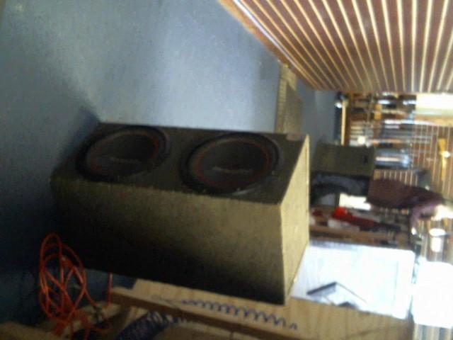 "PIONEER ELECTRONICS Speakers 12"" WOOFERS IN BOX"