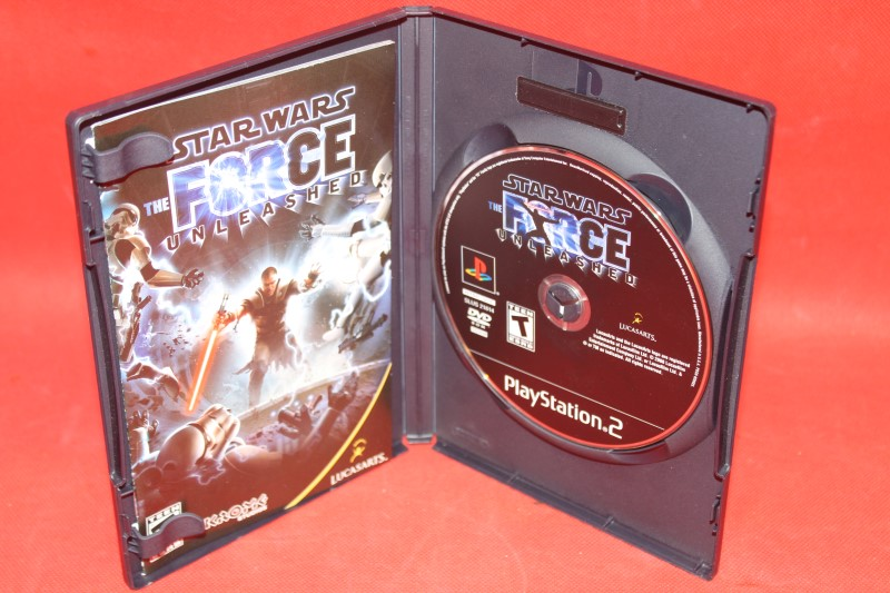 +++ STAR WARS THE FORCE UNLEASHED Sony Playstation 2 PS2 Game COMPLETE +++