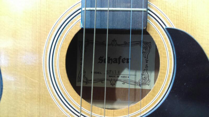 SCHAFER #SF414 ACOUSTIC GUITAR