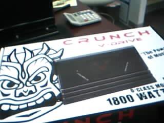 CRUNCH AUD Car Amplifier DRA1850.1D