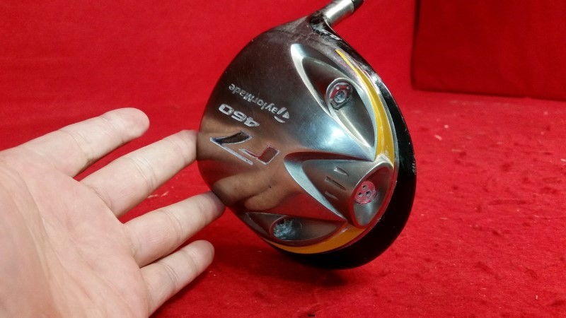 Taylormade R7 Golf Driver - Graphite Shaft - RH 9.5* Loft